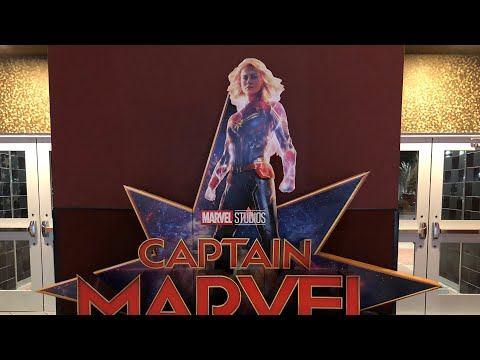Captain Marvel Movie Review Cinemark 17 Fayetteville GA