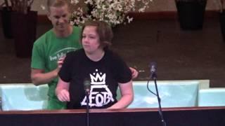 WESTBRIDGE GRACIE PHILLIPS BAPTISM 2016