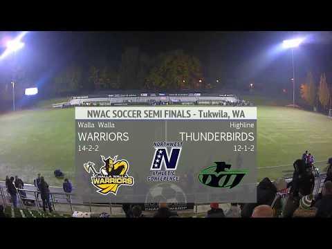 MSOC: Walla Walla vs Highline - NWAC Semi-Final Match