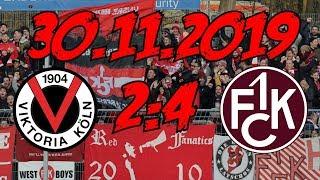 FC Viktoria Köln 2:4 1. FC Kaiserslautern – 30.11.2019 – 3. Sieg in folge!!!