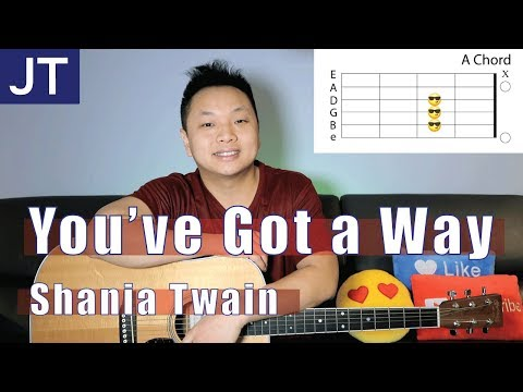 Youve Got A Way Shania Twain Guitar Chords And Lesson Chords