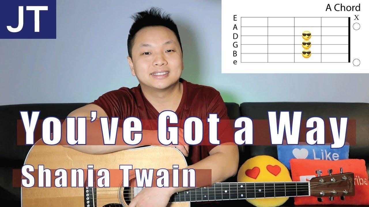 Youve Got A Way Shania Twain Guitar Lesson Youtube