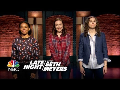 Late Night Writers Tackle Sexual Harassment