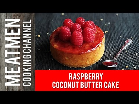 Raspberry Coconut Butter Cake