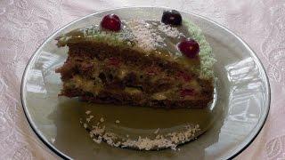 Торт с халвой  ''Стрелы Амура''/Очень нежный и воздушный, вкус просто необыкновенный.