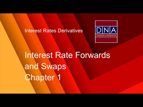 Interest Rate Forwards and Swaps - Chapter 1
