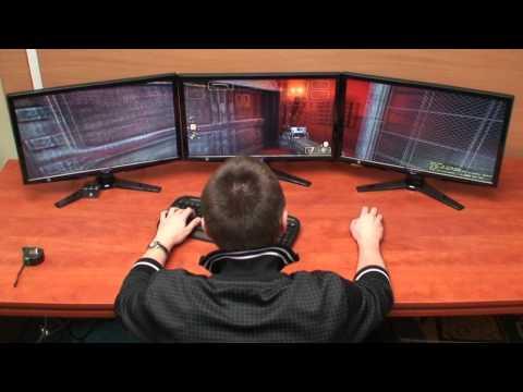nVidia 3D Vision Surround - test