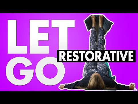 1 Hour Restorative Yoga to Let go of Guilt | Perfectionist Series | Yoga with Melissa 514