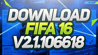download fifa 16 android v 2 1 106618 3rd update apk data links in description