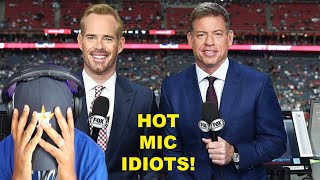 Troy Aikman and Joe Buck BUSTED on HOT MIC SLAMMING Military Flyover | Woke NFL continues!