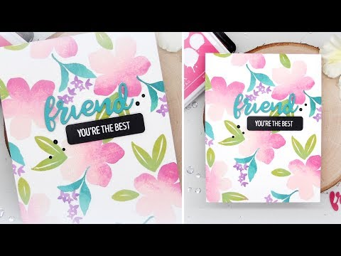 Multi-Color Stamping With Kelly