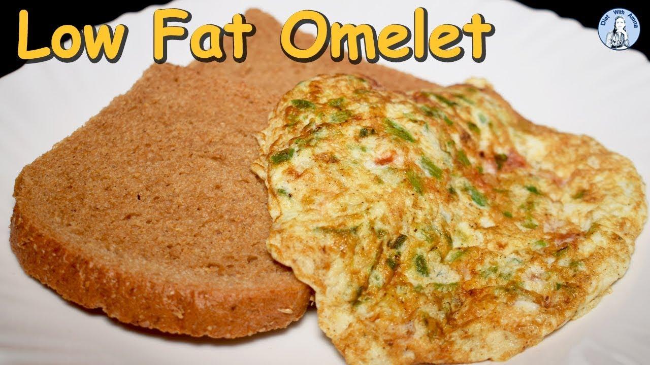 Low Fat Vegetable Omelet Recipe Low Calorie Egg White Omelet