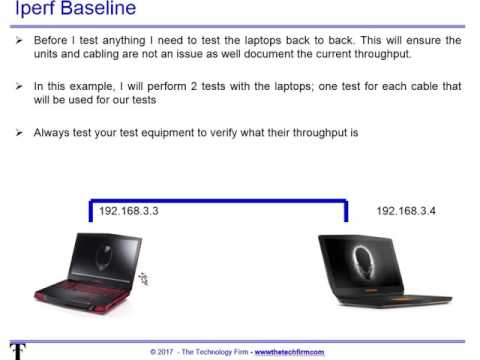 Using iPerf to Test Router Throughput | IT Infrastructure Advice