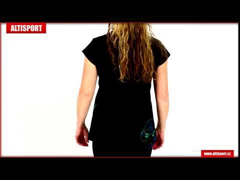 dámské triko s krátkým rukávem altisport manakara