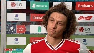 'A lot of criticsm on me, but I survived!' David Luiz reacts to Arsenal 20 City | Emirates FA Cup