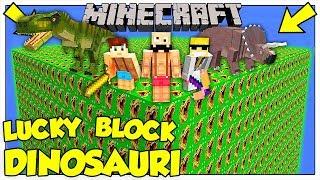 LA SFIDA DEI LUCKY BLOCK GIGANTI DEI DINOSAURI! - Minecraft ITA
