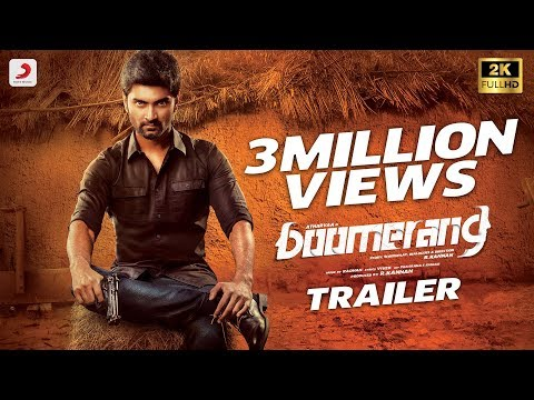 Boomerang Official Tamil Trailer |...