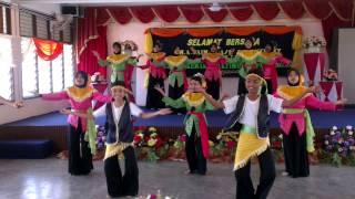 Tarian Ngajat Tampi Sempena Persaraan Pengetua SMK Selandar Mr. A. Saiman 140310