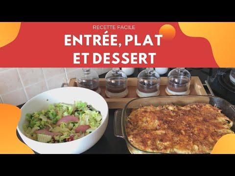 repas-facile-et-rapide-avec-entrée,-plat-et-dessert