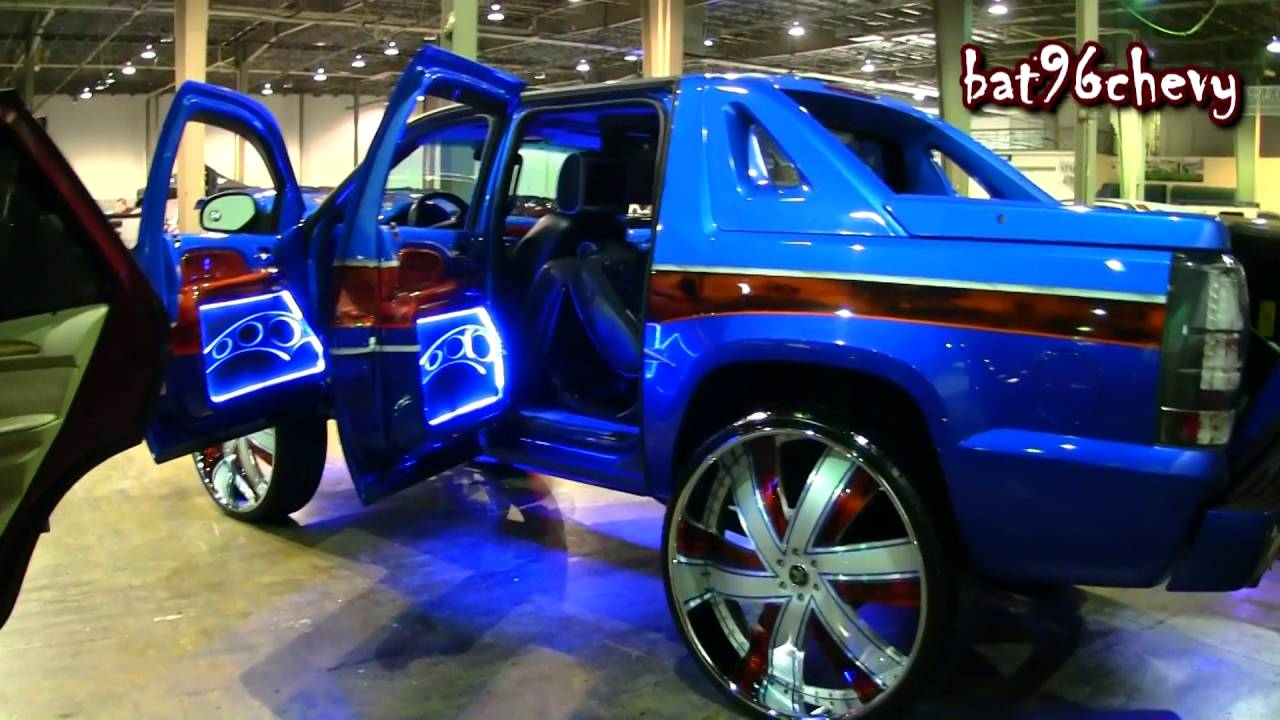 "Chevrolet Avalanche 2016 >> CUSTOM Chevrolet Avalanche on 34"" DUB Shuffle Forged Wheels - 1080p HD - YouTube"