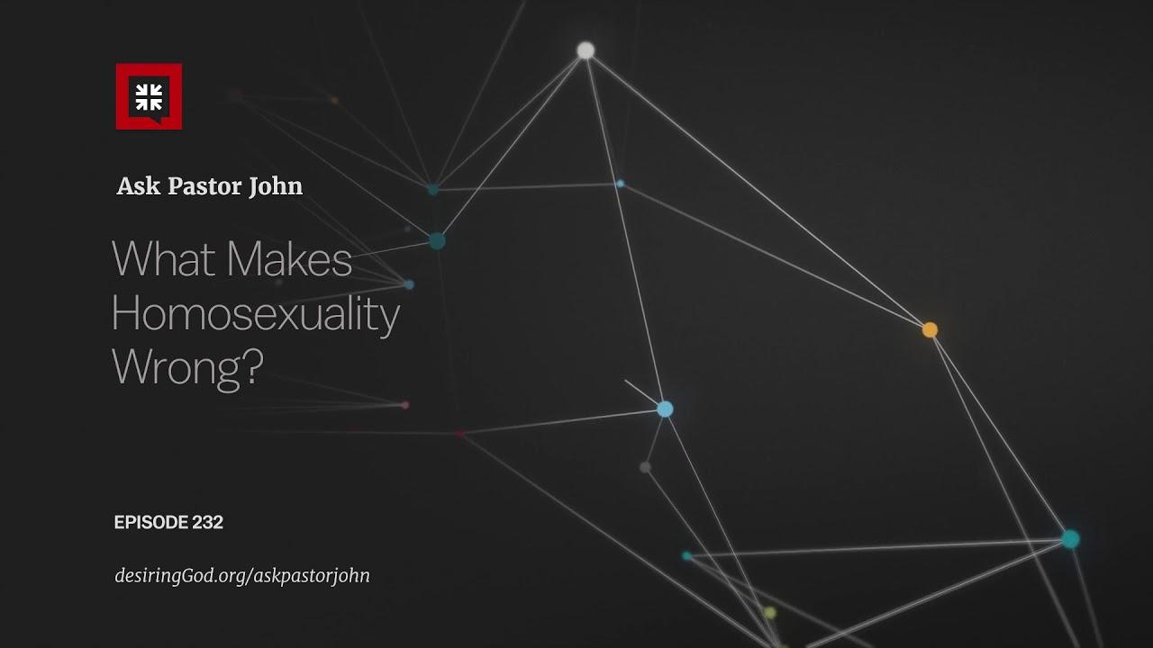 John piper homosexuality