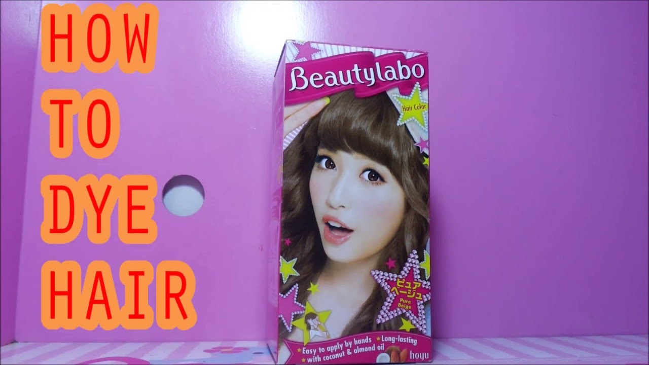 How To Dye Your Hair With Beautylabo Bahasa Indonesia Review