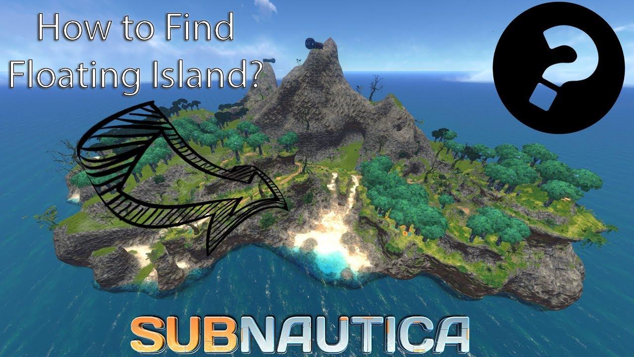 Subnautica Karte.Floating Island Location Subnautica