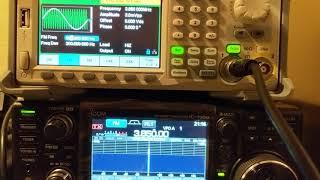 باستخدام Siglent مولد إشارة إلى خلق FM, AM إشارة الراديو