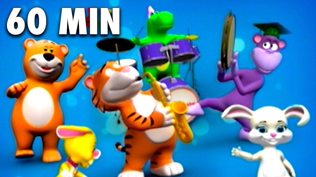 Baby Genius Compilation 60 Minutes Full Dvd Sing Along Nursery Rhymes Kids Songs