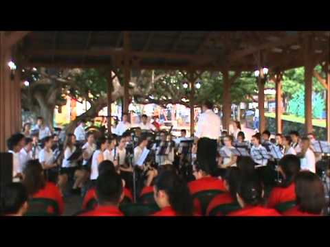 GBN Band Cultural House Park Concert Costa Rica December 28 2015