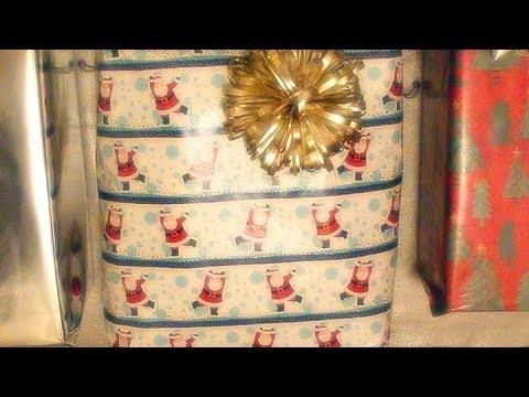 ASMR Crinkly Sounds from Christmas Gifts (Binaural Sounds Only)