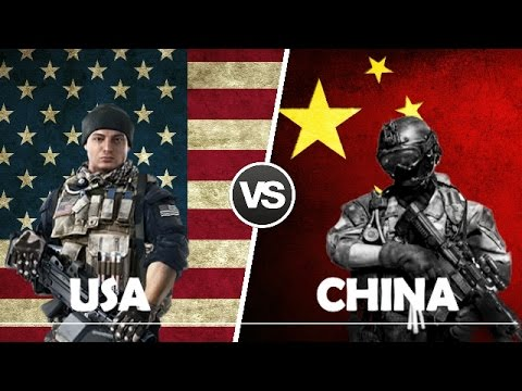 USA VS CHINA - Military Power Comparison 2017