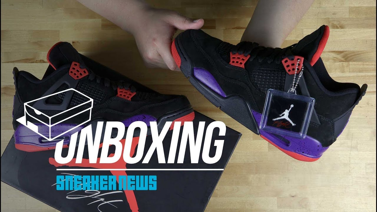 aa2562f90f7e Unboxing The Air Jordan 4