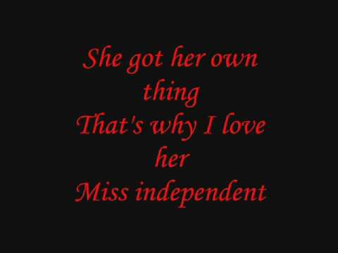 Ne-Yo - Miss Independent [CORRECT LYRICS!!!]