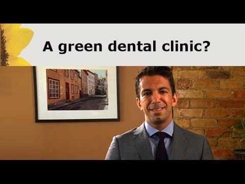What is a green dental office?