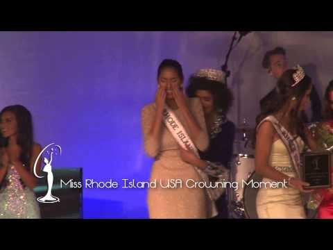 Crowning Moment  Miss Rhode Island USA 2015