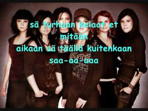 Tik Tak-Lopeta (lyrics)