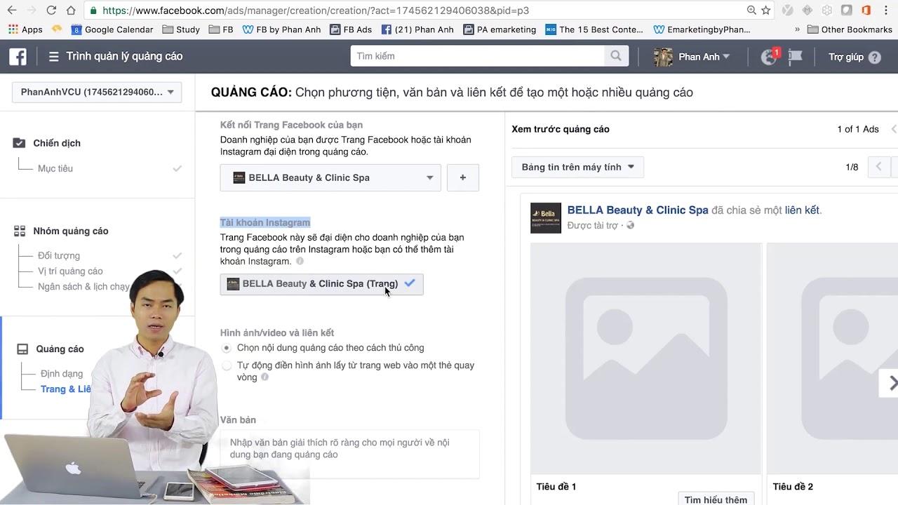 Bài 29: Chuyển mọi người đến trang đích trên hoặc ngoài Facebook