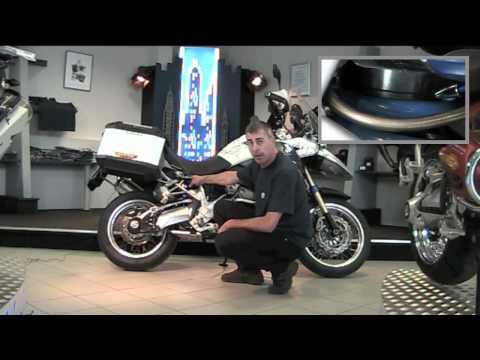 Fahrwerkseinstellung am Beispiel einer BMW R 1200 GS