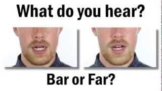what do you hear bar or far