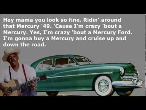 Mercury Blues K C  Douglas with Lyrics