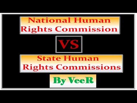 L-77-NHRC vs SHRC- (State Human Rights Commission)-Polity(UPSC/PSC/IBPS/SSC)- By VeeR