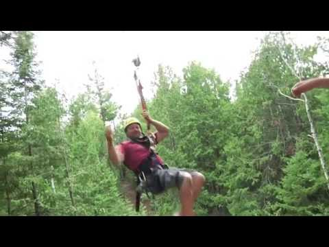 Lakeshore Adventures Zip Line - Explore The Door - Door County