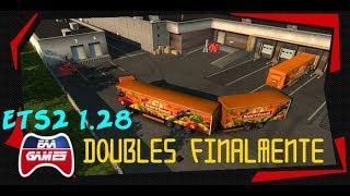 DOUBLES FINALMENTE!! ETS2 1.28!!