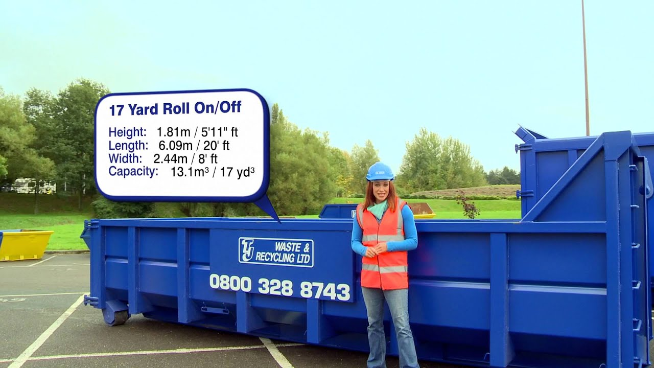 Skip Hire Info 17 Cubic Yard Roll On Off Roro