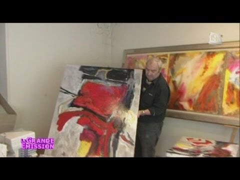 antoine arlandis artiste peintre marseillais youtube. Black Bedroom Furniture Sets. Home Design Ideas