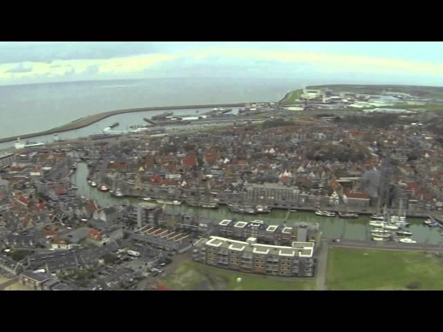 Michael: Dronevlucht boven Harlingen
