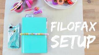 mein FILOFAX Planner Setup | ViktoriaSarina