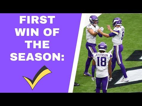 Minnesota Vikings win first game of 2020 season against the Houston Texans