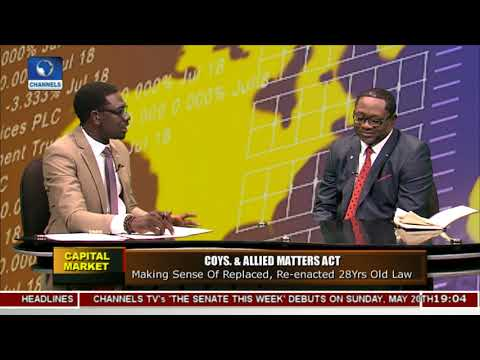 Discussing Impact, Assessment Of Senate's Input To New CAMA Act Pt.1 |Capital Market|